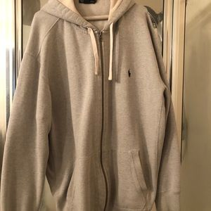 2xlt Ralph Lauren Polo zip up hoody.